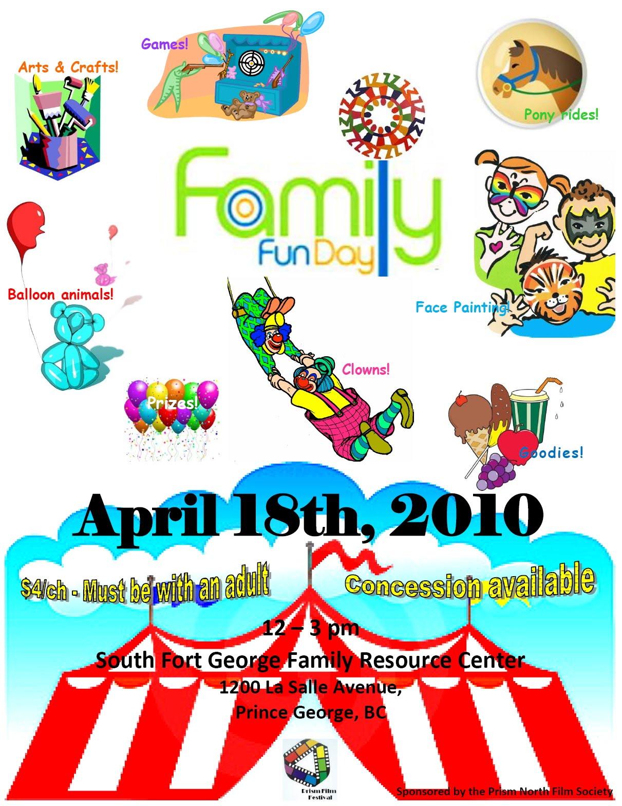Fun clipart family fun day #2