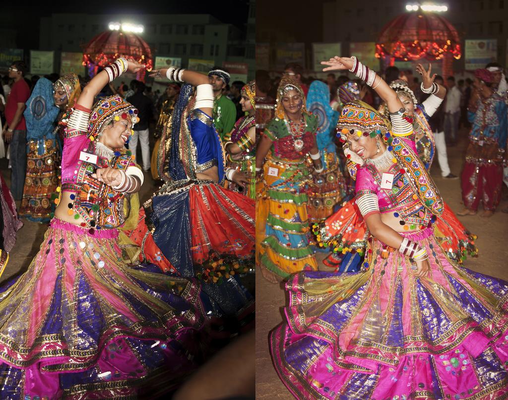 Festival clipart garba dance Gujarat until Navratri ahhh festival