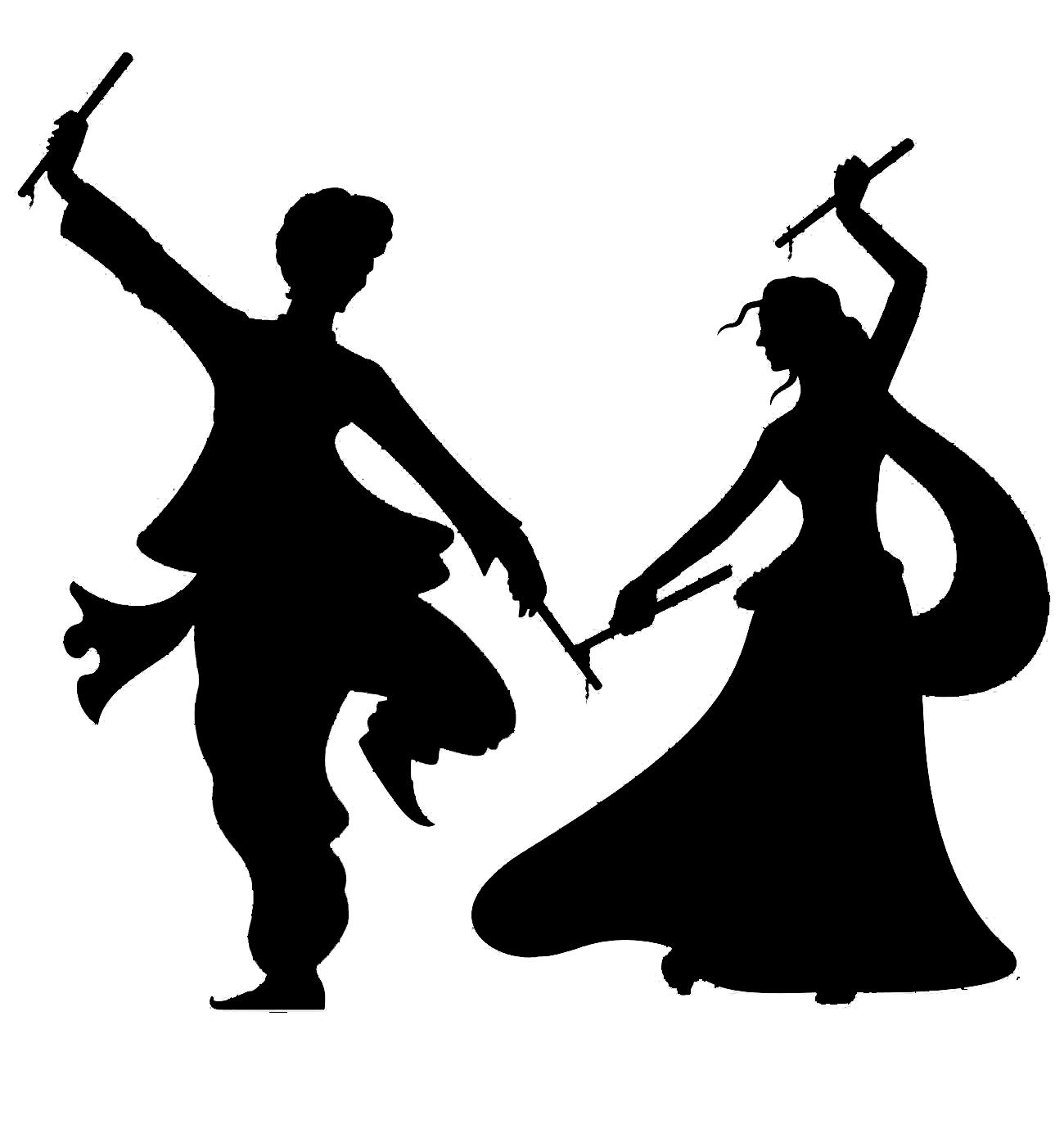Indian clipart group dance Dandiya Dancing Dance Dandiya Painting