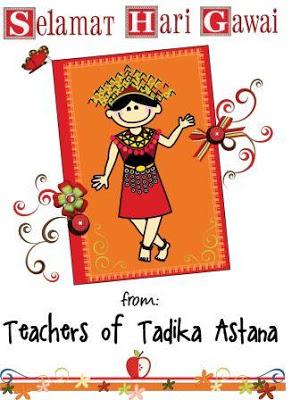 Festival clipart gawai Astana Tadika Miri: GAWAI 2011