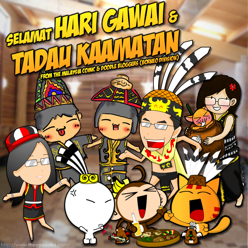 Festival clipart gawai & Day (Long and Life
