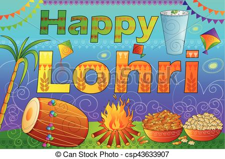 Festival clipart happy Lohri  Happy of Lohri