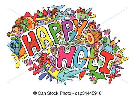 Festival clipart happy Happy festival Holi doodle doodle