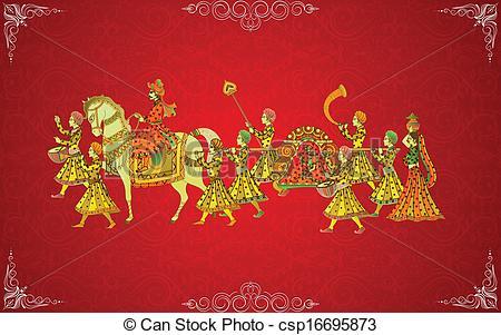 Festival clipart indian wedding Vectors edit vector Wedding to