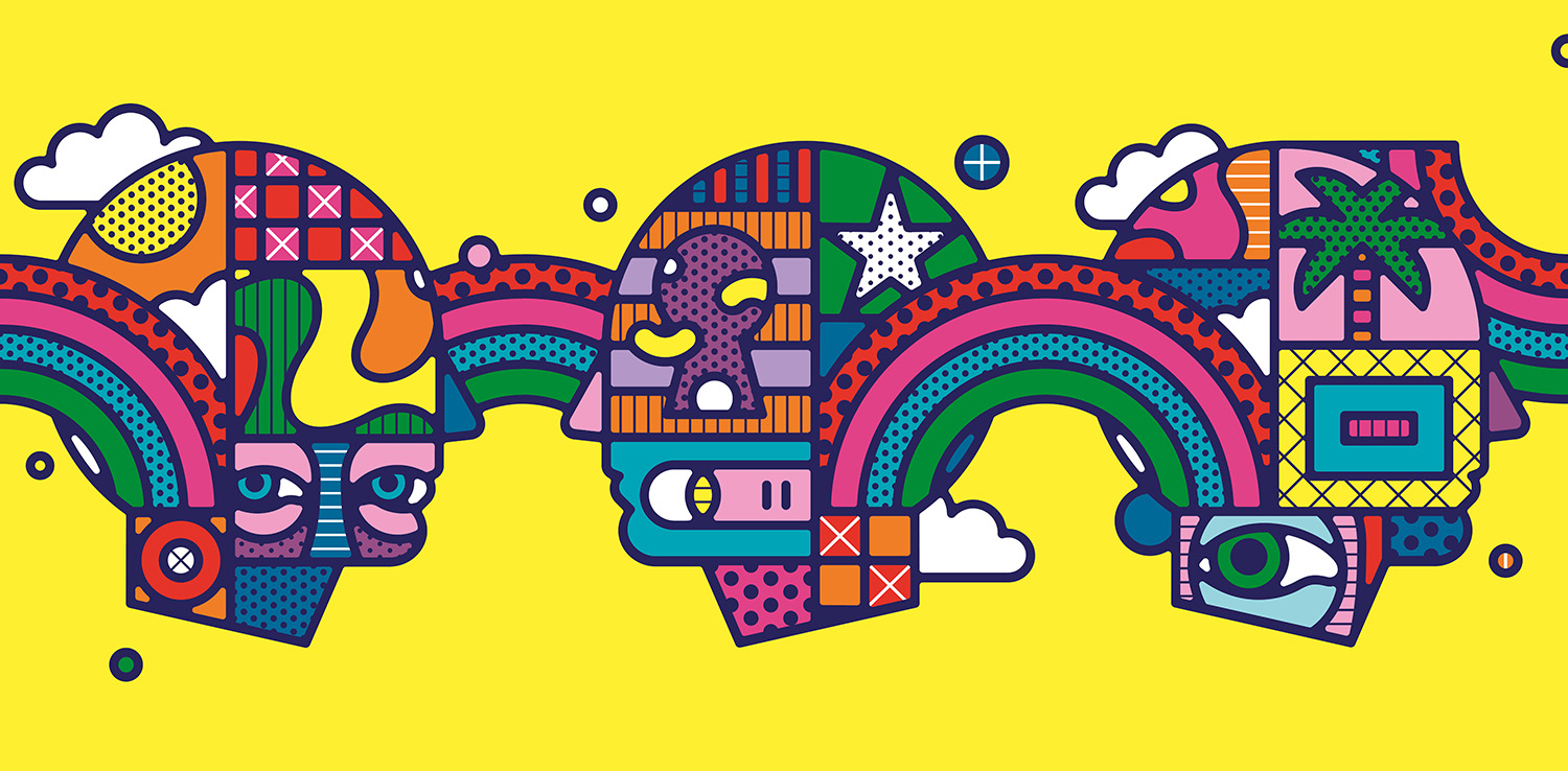 Festival clipart international trade & Tangent's identity identity psychedelic