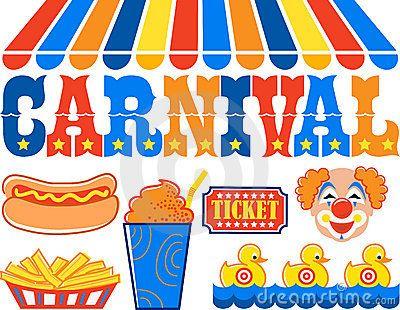 Festival clipart kids carnival Carnival games clipart Kids clipart