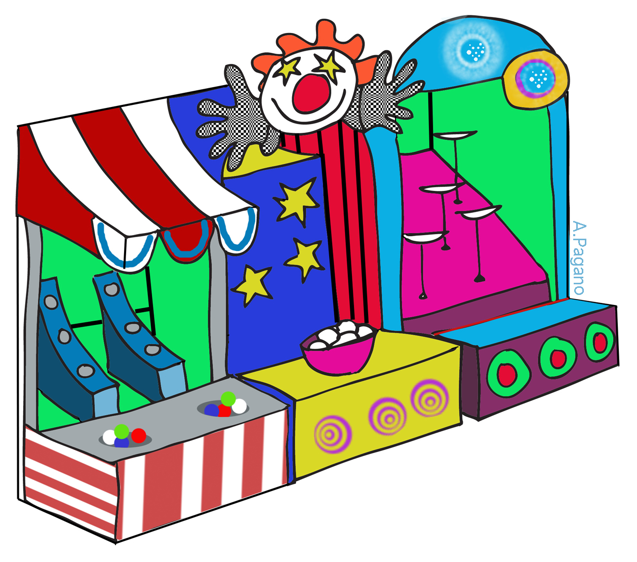 Carnival clipart ticket booth Carnival Savoronmorehead Clip ticket Art