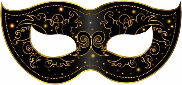 Festival clipart mask vector Vector Free masks Mardi decoration
