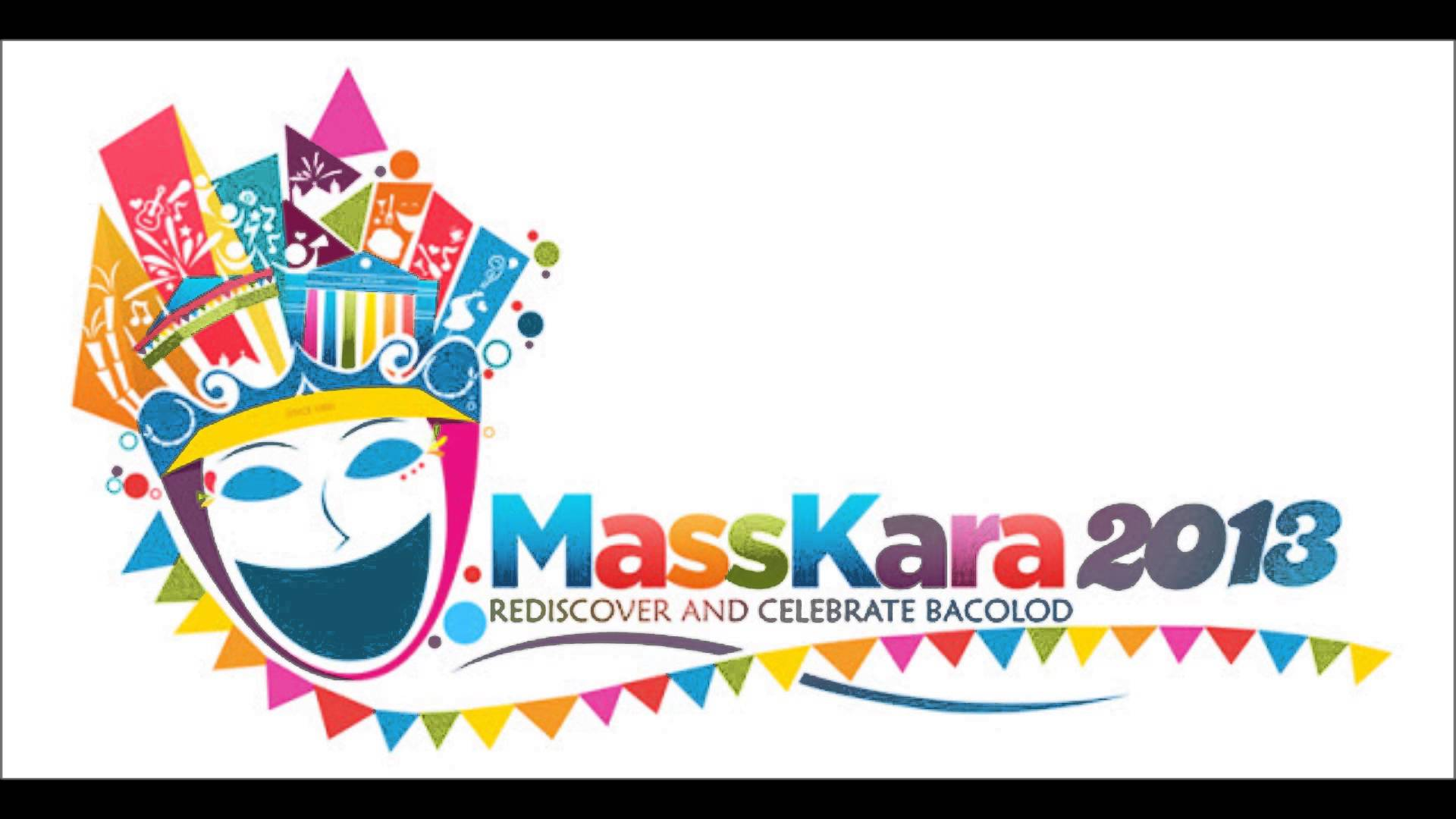 Festival clipart maskara 2013 YouTube Festival and Bacolod!