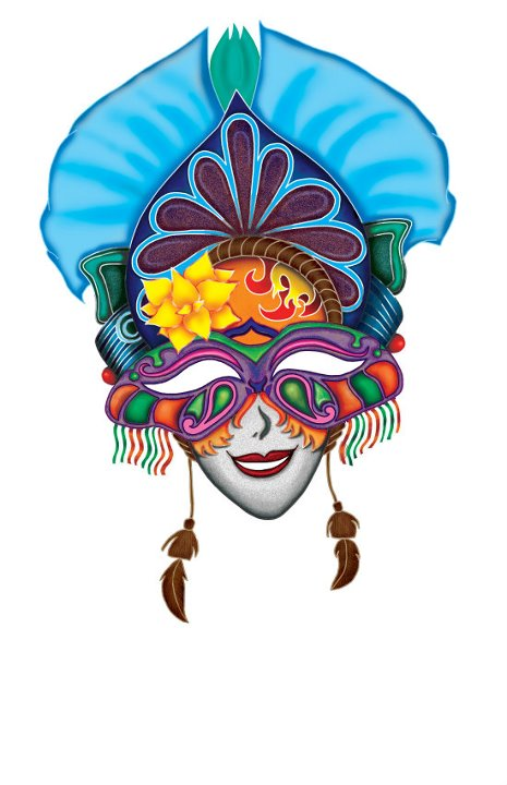 Festival clipart maskara On Gallery orangepiano Masskara Masks