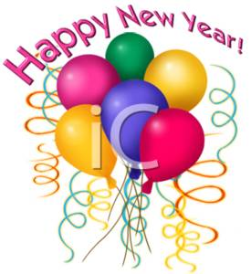 Festival clipart new year's Year New Happy  Pic