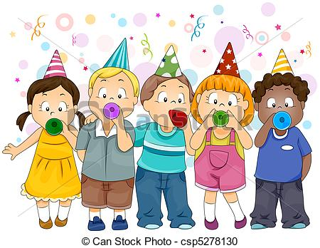 Festival clipart new year's Clip Hats Party  Art