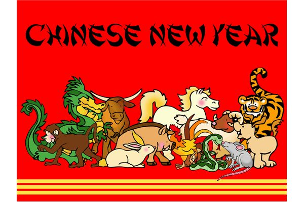 Festival clipart new year's Year new Chinese  free