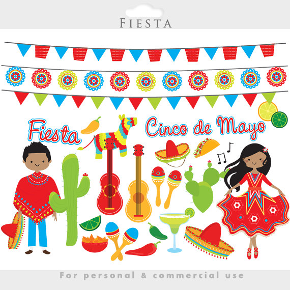 Spanish clipart mexican party Use mayo mayo Mexican cacti