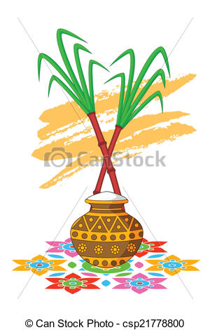 Festival clipart pongal festival Of Clipart Happy Celebration Pongal