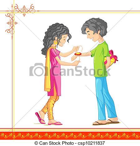 Festival clipart raksha bandhan Bandhan Bandhan illustration Raksha and