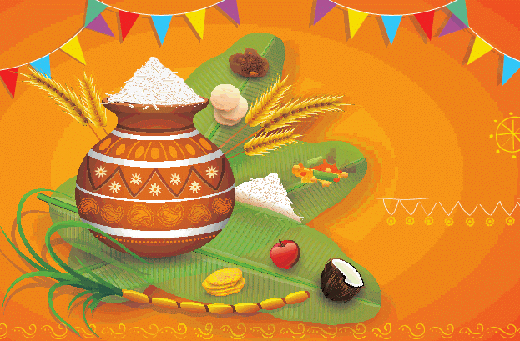 Festival clipart sankranthi Festival here Sankranthi The harvest