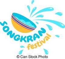 Festival clipart songkarn Vector Songkran Clipart Logo