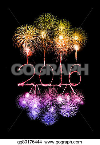 Festival clipart sparkler Year Art Clip with gg80176444