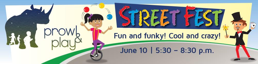 Festival clipart street play  Kids & Prowl Fest