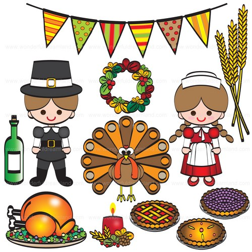Thanksgiving clipart thanksgiving day Festival Clipart  Png