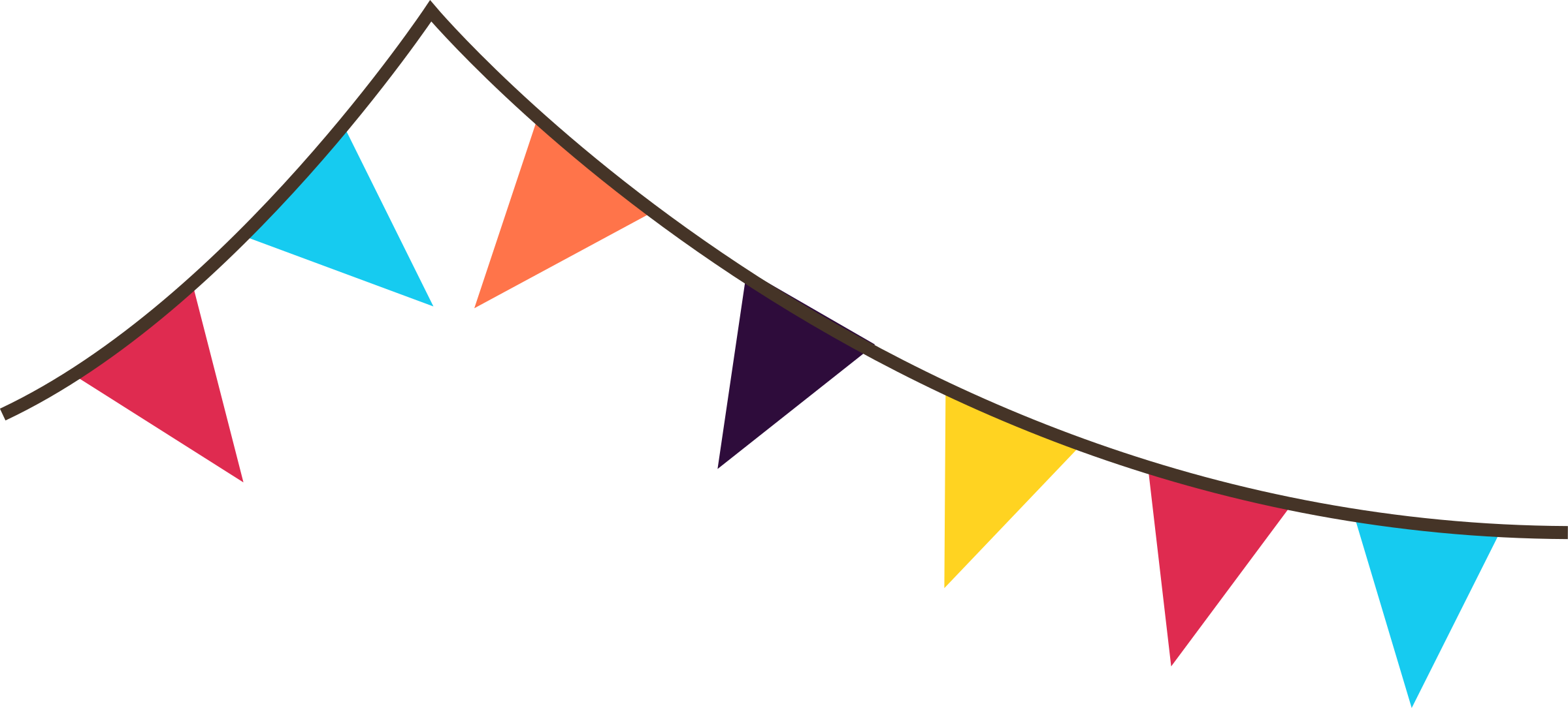 Triangle clipart celebration banner Free transparent Flags flag Clip