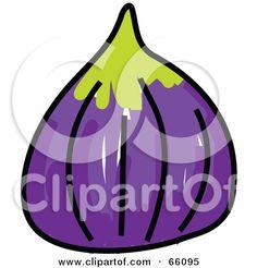 Fig clipart fresh Vector Fig Fruit online Leaf