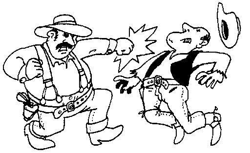 Fight clipart Download Western Page Clip Fight