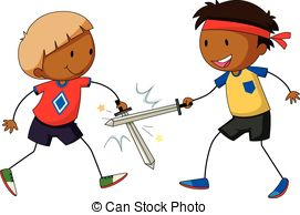 Fight clipart Playing Sword   sword