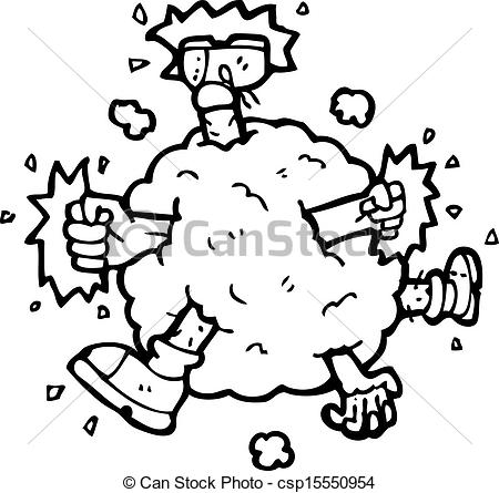 Fight clipart Of Vector cartoon Clipart cartoon