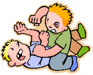 "Fight clipart bad behaviour ""Spare and many abuse it"