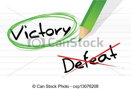 Fight clipart defeat Of victory defeat selection