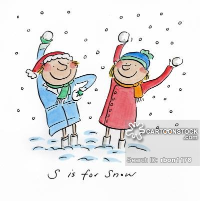 Chill clipart snowy weather Picture CartoonStock Cartoons and Snow