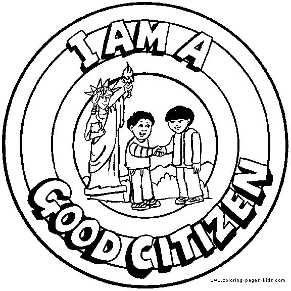 Fight clipart bad attitude Citizen Page citizen Good I
