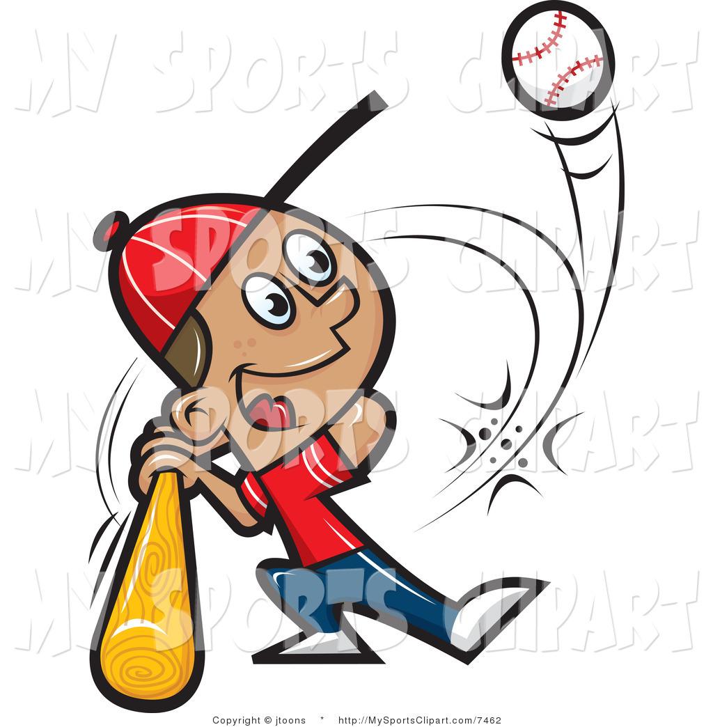 Boy clipart baseball player Free Clipart Clipart Hitting Panda
