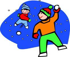Fight clipart snow Snow Fight Fight Download Ball