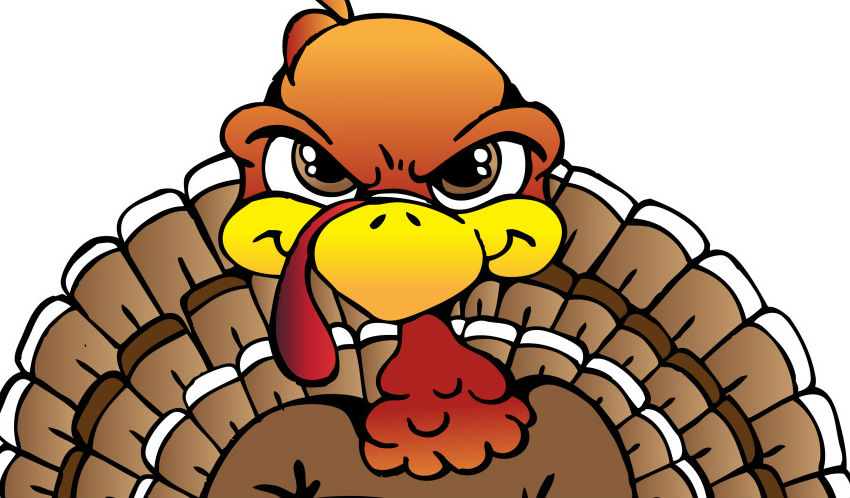 Turkey clipart angry #2