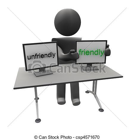 Fight clipart unfriendly Clipart unfriendly to friendly Unfriendly