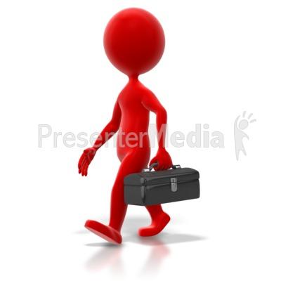 Figurine clipart 3d stick figure Presenter PowerPoint Stick Walk Colored