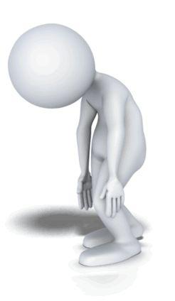 Figurine clipart 3d stick figure Stichman on stick walk 109
