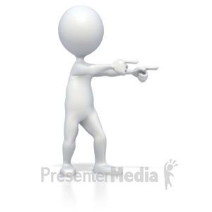 Figurine clipart 3d stick figure Media Templates Stick Point Presentation
