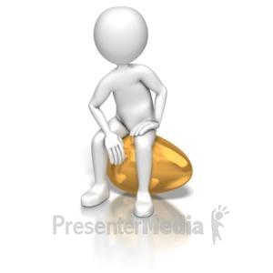 Figurine clipart 3d stick figure Presenter PowerPoint Stick On Egg
