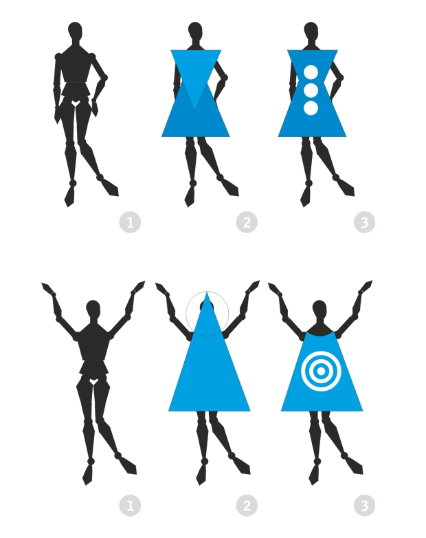 Figurine clipart basic shape Try using for that up