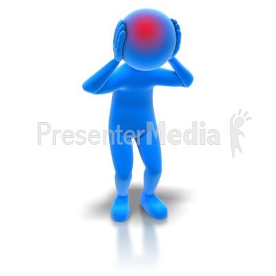 Figurine clipart blue Headache headache%20clipart Free Art Panda