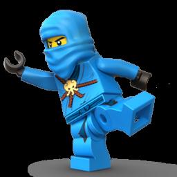 Figurine clipart blue PNG Format: Blue Ninja PNG