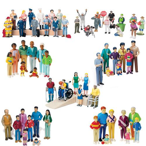 Figurine clipart cognition Deluxe FAMILIES Trays Piece for