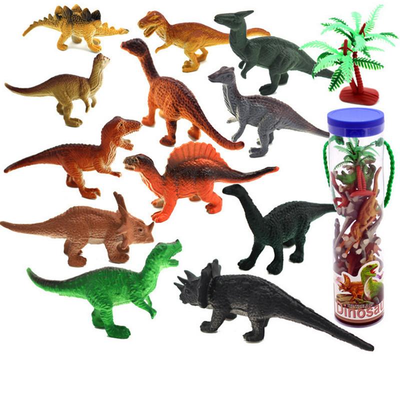 Figurine clipart cognition 12pcs/tube Toys Plastic Mini Bottled