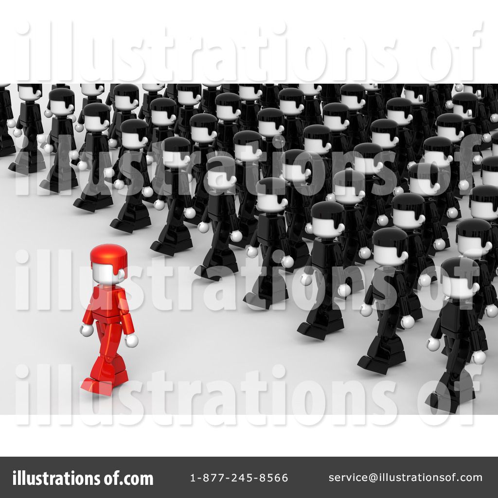 Crowd clipart leadership Leadership Pan Royalty by Pan