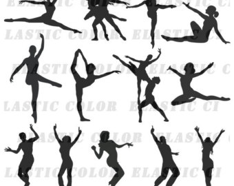 Figurine clipart dancing Download clipart Dance clip svg