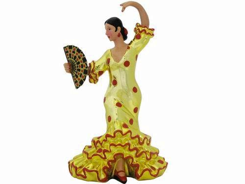 Figurine clipart dancing Flamenco bullfighter Red and Polka